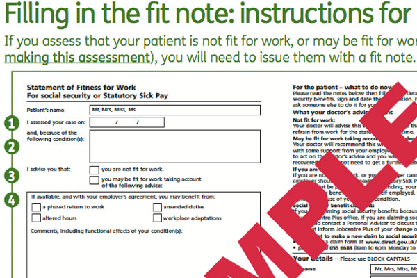 Govt Considers Ditching Sick Notes For 'Fit Notes' | Australian Doctor