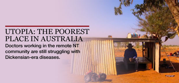 Utopia: the poorest place in Australia
