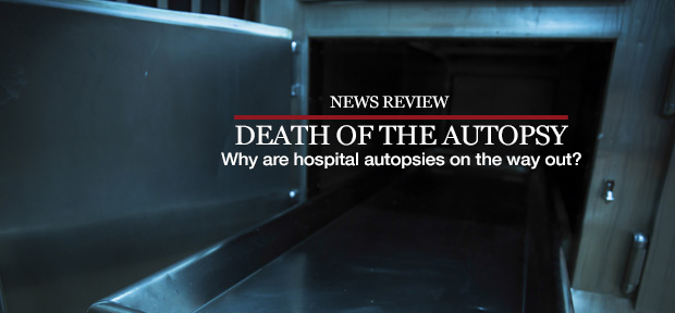 Death of the autopsy